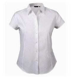 Camisa para dama manga corta