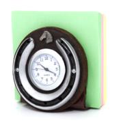 Reloj Herradura con tacos papel