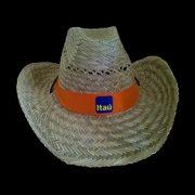 Sombreros de Paja Cowboy con logo