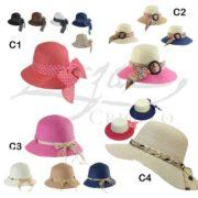 Sombreros Capelinas para Dama II