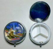 Pastillero o Porta pastillas metalico Argentina