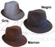 Sombrero de Tango Lisos de Lana
