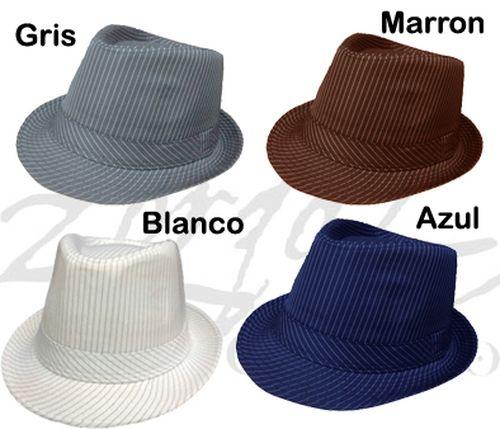 Sombrero Rayados Fedora 3446dc4bac8