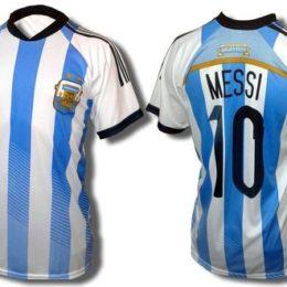 Camiseta de Argentina con Logo