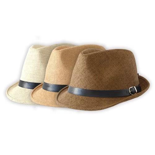 Sombrero Simil rafia Trilby Fedora e6a05798f46