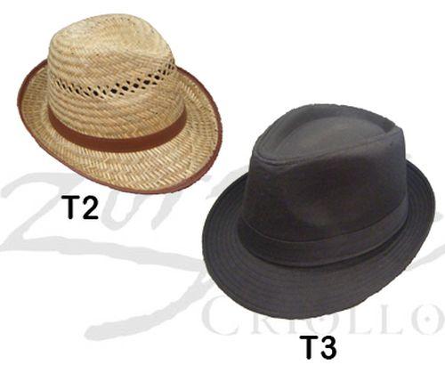 Sombrero tipo fedora Tanguero – Tiroles – Zorzal Criollo – Ropa con ... 6eef9a595c2
